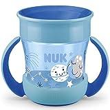 NUK Mini Magic Cup Night Trinklernbecher | auslaufsicherer 360°-Trinkrand | ab 6Monaten | mit...