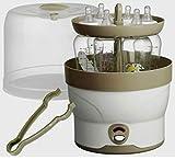 Babyflaschen Dampf Sterilisator 6 Fl. Baby Flaschen Vaporisator Dampfsterilisator