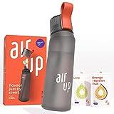 air up Starter-Set - 1 x Trinkflasche BPA-freies Tritan 650 ml 2 x Pods Geschmack Limette &...