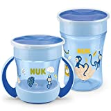 NUK Magic Cup Trinklernbecher Duo Set | Magic Cup 230ml + Mini Magic Cup 160ml mit Ergonomische...
