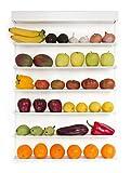 FRUITWALL - Obstregal zum Aufhängen I Obst Hängekorb I Obstschale Design I Wandregal für Obst &...