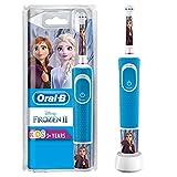 Oral-B Kids Frozen 2 Wiederaufladbare Elektrische Zahnbürste Powered By Braun, 1Handstück, für...