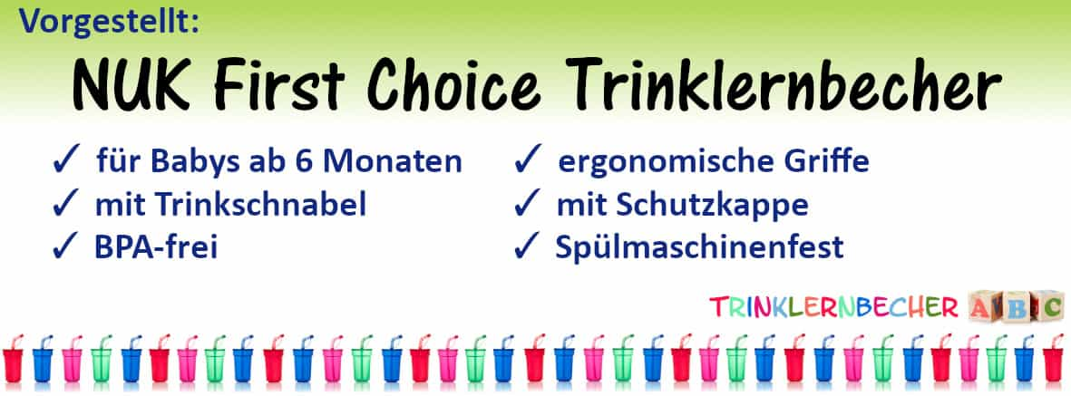 NUK First Choice Trinklernbecher