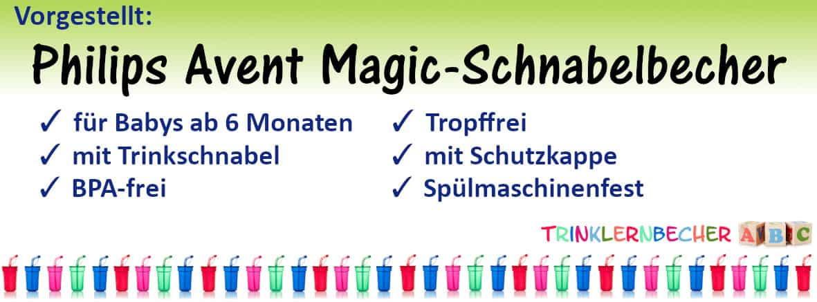 Philips Avent Magic-Schnabelbecher