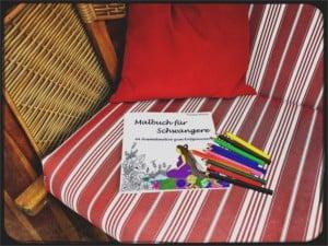 Malbuch für Schwangere Entspannung für die werdende Mutter