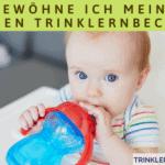 Wie gewöhne ich mein Baby an den Trinklernbecher?